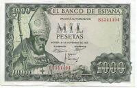 1000 pesetas 1965 San Isidoro @@ MUY BELLO @@