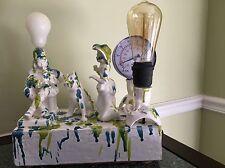 Anthropologie Sculpture Steampunk Lamp