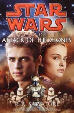 Star Wars Ser. Episode 2: Attack of the Clones by R. A. Salvatore (2002, Hardcov