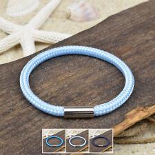 ❦ Armband MARC Segeltau 5 mm Surfer Magnetverschluß Farbe & Größe wählbar ❦