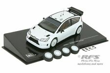 Citroen c4 wrc 2008 - 2010-Rallye Plain Body Version - 1:43 IXO MDC s11