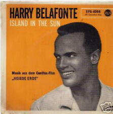 HARRY BELAFONTE EP GERMANY ISLAND IN THE SUN