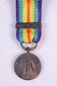 WW1 US ARMY NAVY UNITED STATES VICTORY MINIATURE MEDAL MINE LAYING BAR