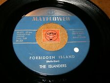 THE ISLANDERS - FORBIDDEN ISLAND - CITY UNDER THE   / LISTEN - EXOTICA  POPCORN