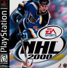 NHL 2000 (Playstation) PS1 PSX PSOne