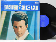 Lou Christie LP Strikes Again   Colpix VG++
