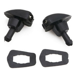 Universal Car Windshield Wiper Nozzle Sprayer Washer Spray Nozzle Sprinkler Pair