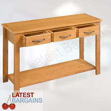 Wooden Hall Table Furniture Hallway Cabinet Entry Side Console Stand Storage