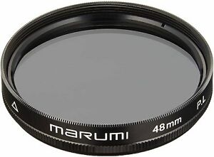 MARUMI Camera Film Filter PL48mm Polarizing Filter 201056