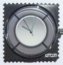 """S.T.A.M.P.S. - Uhr  """"Grey Ring"""" - wasserdicht bis 50 Meter Wassertiefe"""