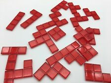 Blokus Game Red Replacement 20pc Educational Insights 2005 Missing 1 single pc