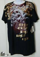 Romeo & Juliet Couture Women's T-Shirt Graphic Size L Black