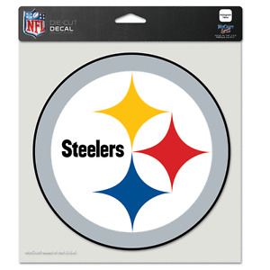 Pittsburgh Steelers Car Window Decal 8 Color