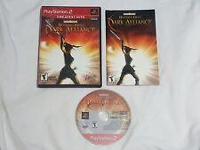 Baldur's Gate Dark Alliance 1 Playstation 2 Game COMPLETE PS2 aliance NICE DISC