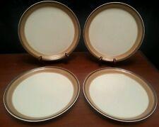 8pc Mikasa Buckskin Ben Siebel (4) Dinner (4) Salad Plates Excellent Condition