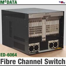 McData ed-6064 ed6064 56-Port Fibre Channel Director Commutateur SFP ctp2 UPM 64 OK