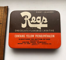 Vintage REGS Brand Of Chocolate Flavored Laxative Tin