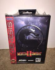 Mortal Kombat II BRAND NEW SEALED! RARE Sega Genesis CLASSIC! (1994)