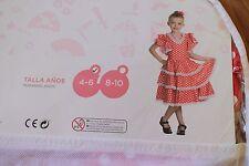 Kids Girls Flamenca Flamenga Dress Miyo El Corte Ingles **Brand new**