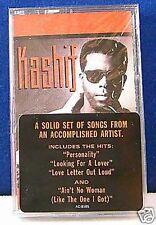 Kashif self titled 9 track 1989 CASSETTE TAPE NEW!