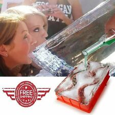 Ice Luge Barbuzzo Party Drinking Mold Bar Tool Kitchen NEW FREE FAST SHIPPING