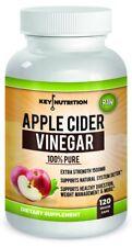 ORGANIC RAW Apple Cider Vinegar Tablets Capsules Pills 1500mg Weight Loss Detox