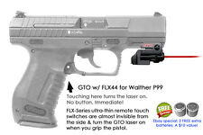 ArmaLaser GTO for Walther P99 - Red Laser Sight w/ FLX44 Grip Touch Activation
