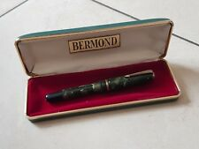Stylo plume vulpen fountain pen fullhalter penna BERMOND nib writing 鋼筆