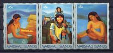 S1927a) Marshall Isl. 1989 MNH Alaska Connections 3v