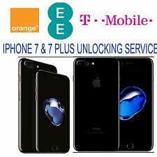 IPHONE 7 & 7 PLUS  UK EE TMOBILE UNLOCK SERVICE (BLOCKED/BLACKLISTED SUPPORTED)