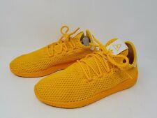 Adidas Originals x Pharrell Williams Mens Tennis Hu Yellow Shoes Cp9808 Size 6