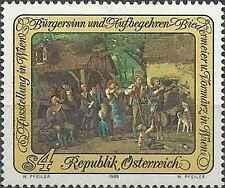 Timbre Arts Tableaux Autriche 1743 ** lot 11701