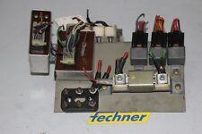 Impianto elettrico centrale si f7 f8 f9 13.168 relè PIASTRA PORTANTE FUSE BOX 1978