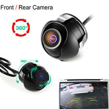 HD Night Vision 360 Degree CCD Car Rear View Front Camera Parking Cam Waterproof