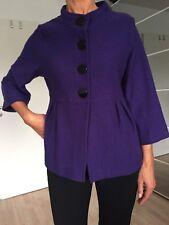 Jacke, Farbe lila, Marke: TAIFUN, Gr. 40, Wolle, neuwertig, nicht gefüttert