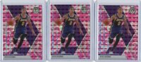 (3) 2019-20 Panini Mosaic Kyle Kuzma Pink Camo #28 Card Lot LA Lakers Prizm NBA