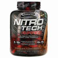 Muscletech Nitro Tech Ripped, Ultimate Protein + Weight Loss Formula, Protein