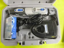 Dremel 12-Volt MAX Cordless Kit Rotary Tool Lithium-Ion 8220 N 30H Case Charger