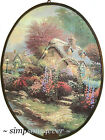 THOMAS KINKADE Lamplight Lane V SUNCATCHER Artcatcher (damaged outer box) NEW