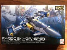 BANDAI 1/144 GUNDAM REAL GRADE FX-550 SKYGRASPER LAUNCHER / SWORD PACK # 06 NIB