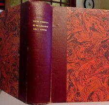 Cours professionnels d'édition et de librairie. Session 1945-1946. RARE.