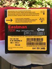 Eastman 7231 Plus-X Nagative Film (Improved) New Unopened. Vintage,16mm, 3200k,.