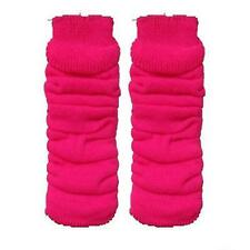 LADIES LEG WARMERS NEON COLOURS TUTU NEON LEG WARMERS PINK BLACK RED