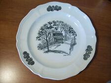 Caroline Williams Cincinnati Theme Wedgwood Porcelain Plate Kemper Log Cabin