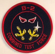 USAF US Air Force B-2 Combined Test Force Patch Edwards AFB