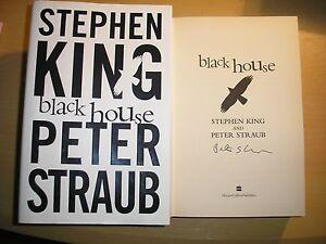 PETER STRAUB & STEPHEN KING - BLACK HOUSE  1st/1st  HB/DJ  2001 SIGNED BY STRAUB