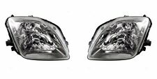 HONDA PRELUDE 1997-2001 HEADLIGHTS HEAD LIGHTS FRONT LAMPS PAIR