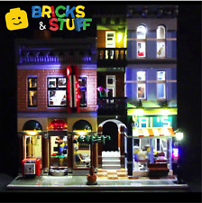 Lighting Kit for LEGO Creator 10246 Detective's Agency (LED LIGHT KIT ONLY)