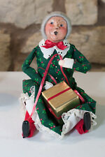Byers Choice Ltd. The Carolers Mrs. Claus 2nd Edition Sitting Figure 1992