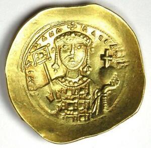 Michael VII Ducas AV Gold Histamenon Nomisma Christ Coin 1071-78 AD - XF / AU